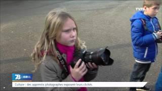 Culture : des apprentis photographe exposent leurs oeuvres
