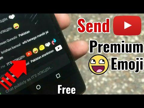Send Premium Emoji Sticker In Youtube Live Chat 😍 Free || Tech4X