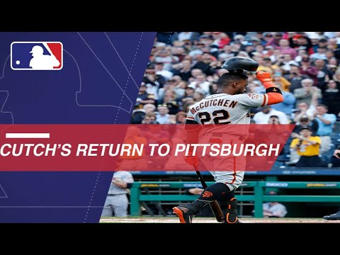 Cutch returns to PNC Park as a visiting player