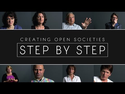 Creating Open Societies: Step by Step