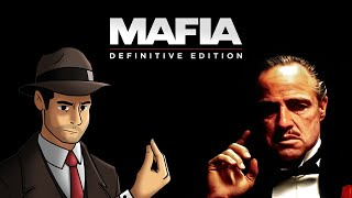 Method acting as The Godfather in Mafia: Definitive Edition