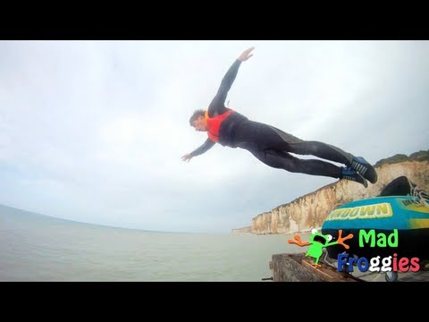 GoPro : Diving & catapulting by Mad Froggies - teaser
