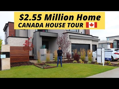 Canadian Houses| Inside a $2.55 MILLION DOLLAR House In Canada|Life In Canada|House in Edmonton, AB