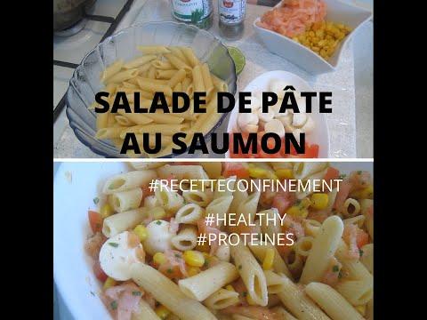 salade-de-pÂtes-au-saumon-|-healthy-et-protÉinÉ-|-idÉale-en-printemps---ÉtÉ-|-#recetteconfinement