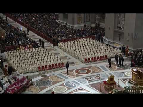 Gloria in excelsis deo - Vatican Christmas 2016