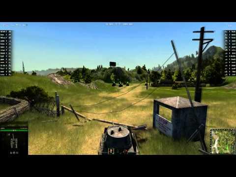 [HD 1080p] World Of Tanks - Closed Beta (Trailer+Gameplay)