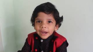 3 Years old Ritvik answering Gk Questions