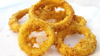 Onion Rings - Crispy Crunchy Batter - Poormansgourmet