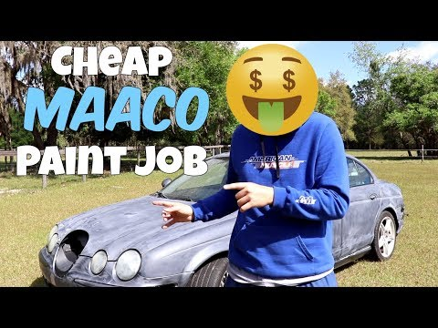 Why Everyone HATES Cheap Maaco Paint Jobs. BUT Shouldn't!