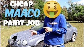 Why Everyone HATES Cheap Maaco Paint Jobs... BUT Shouldn\'t!