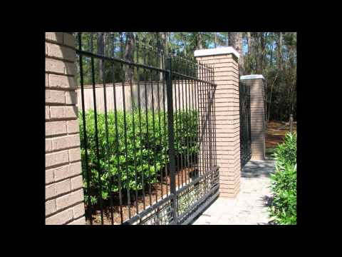 Home Depot Garden Fence 2015 YouTube