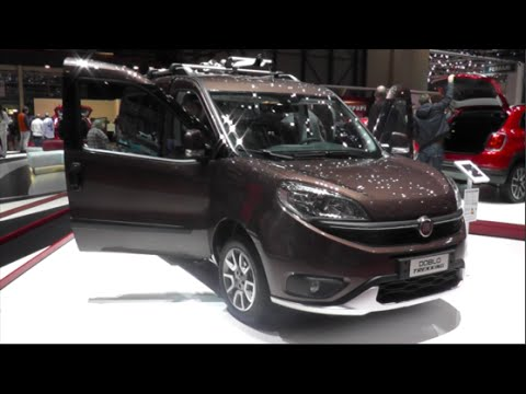 fiat doblo trekking 2015 in detail review walkaround interior exterior youtube. Black Bedroom Furniture Sets. Home Design Ideas