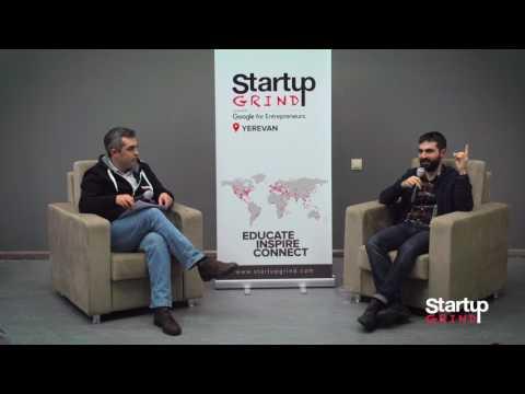 Startup Grind Yerevan Hosts Vazgen Hakobjanyan (Teamable, YerevaNN)