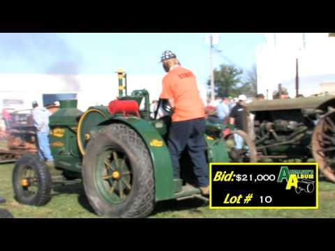 15-25 Light Weight Rumely - Aumann Auctions - Sutton Antique Tractor Auction