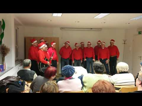 Bela snežinka v izvedbi Moškega pevskega zbora Svoboda Hrastnik