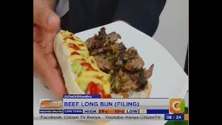 Breakfast Tips: Beef/Spicy Mushroom/ Chicken Long Bun