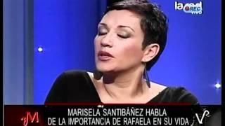 """Marisela Santibáñez por el fallecimiento de su hija: """"La solté y le dije"""