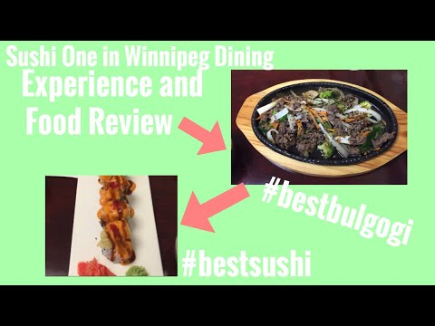 Korean And Japanese Restaurant In Winnipeg Canada Food Review