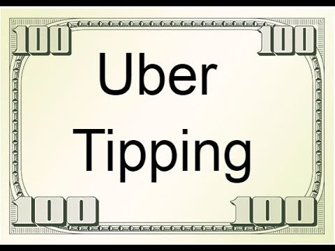 Uber Tipping Option