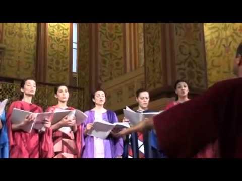 НАРОДНАЯ АРМЯНСКАЯ ПЕСНЯ - САРЕРИ ОВИН МЕРНЕМ В ОБРАБОТКЕ САРКИСА ОГАНЕСЯНА