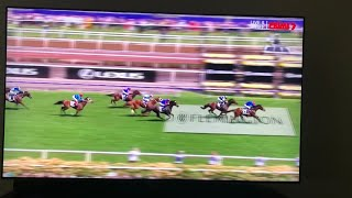 Cross Counter wins the 2018 Melbourne Cup!!