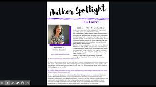 كيفية إنشاء المؤلف الضوء Q & A على كتاب المدونة جولة