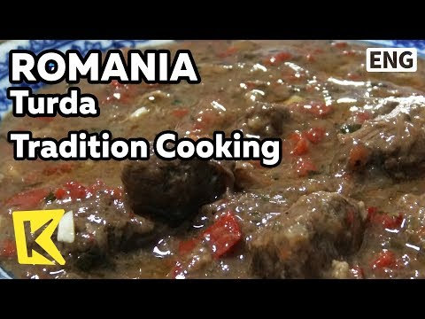 【K】Romania Travel-Turda[루마니아 여행-투르다]옛 방식 요리/Cooking/Tradition/Hunt/Mamaliga/Burta/Tocana/Palinka