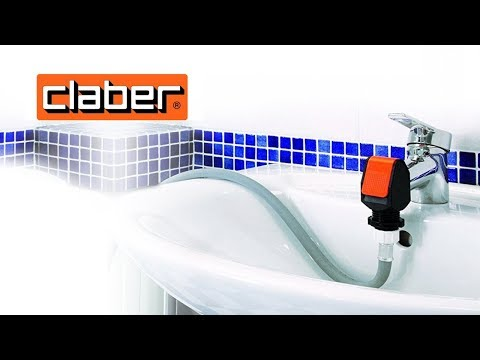 How to Hook a Garden Hose Up To Sink Faucet Claber - YouTube