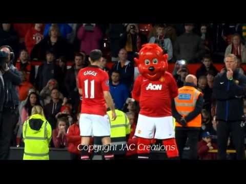 LIVE from Old Trafford - Ryan Giggs Manager's Speech to the fans Manchester United 3-1 Hull