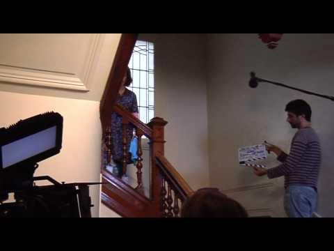 Sur le tournage de la série