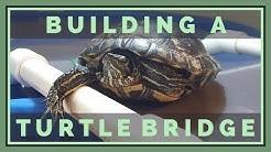 Building a Turtle Dock & Bridge from PVC