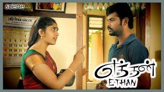 Eththan Tamil Movie | Scene | Vimal, Sanusha First Meet & Sanusha Arrive Vimal House