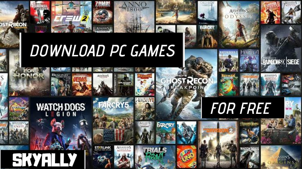 how to get any pc game for free 2017