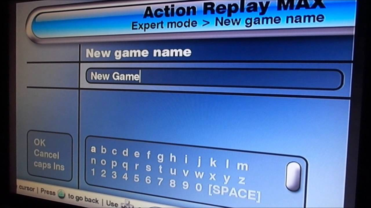 How to use action replay max for playstation 2 youtube