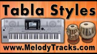 Tere mere sapne - Tabla Styles Yamaha Keyboards indian Kit for Bollywood Songs - Classic SET 4