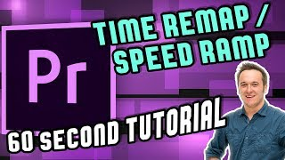 Time Remap (SPEED RAMP) in Premiere Pro CC 2018 in 60 Seconds