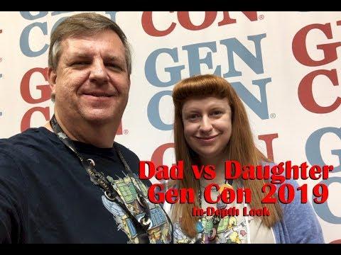 Dad vs Daughter - Gen Con 2019 In-Depth Look - Facade Games