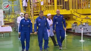На космодроме Байконур состоялась контрольная «примерка» ТПК «Союз МС-09»