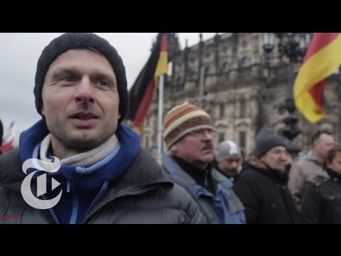 The Pegida Anti-Immigration Movement Splits Germany | The New York Times