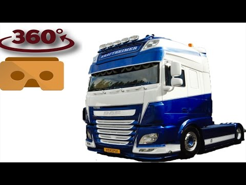 DAF XF 106 euro 6  virtual reality 360 degree