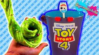 НЕ вибирайте іграшки Toy Story 4 неправильно, щоб зробити Слиз - Supermanualidades