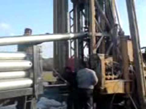 INSTALLING CASING IN WATER WELL 2