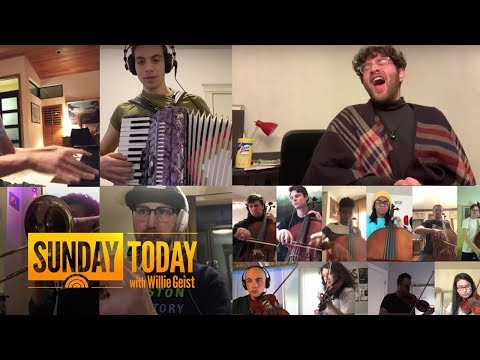 Berklee Students' Touching Musical Message Goes Viral | Sunday TODAY