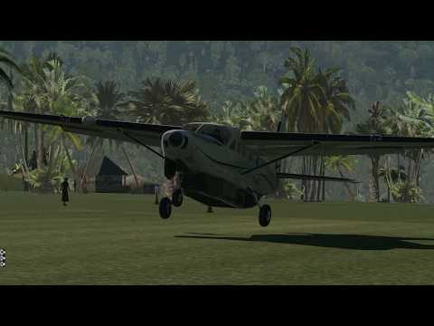 X Plane 11 Susi Air Papua Adventures Part 3 Dawn Flight to Siriwo and Kegata