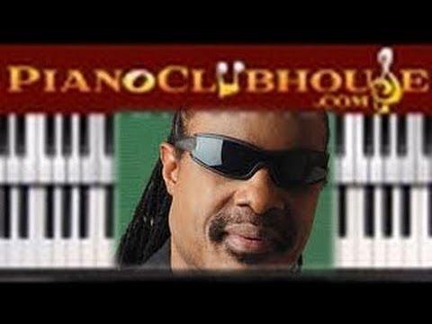 Isnt She Lovely Stevie Wonder Easy Piano Lesson Tutorial