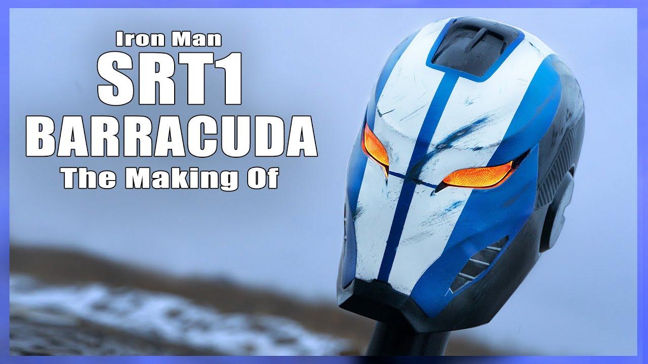 Making The SRT1 BARRACUDA [Concept Helmet]