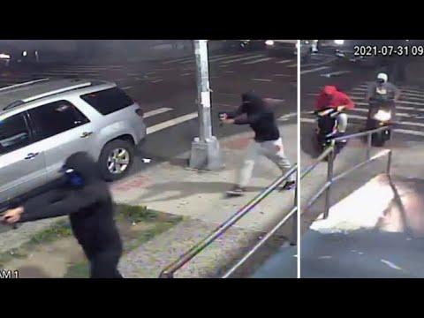 10 shot in brazen 'coordinated attack' in Queens