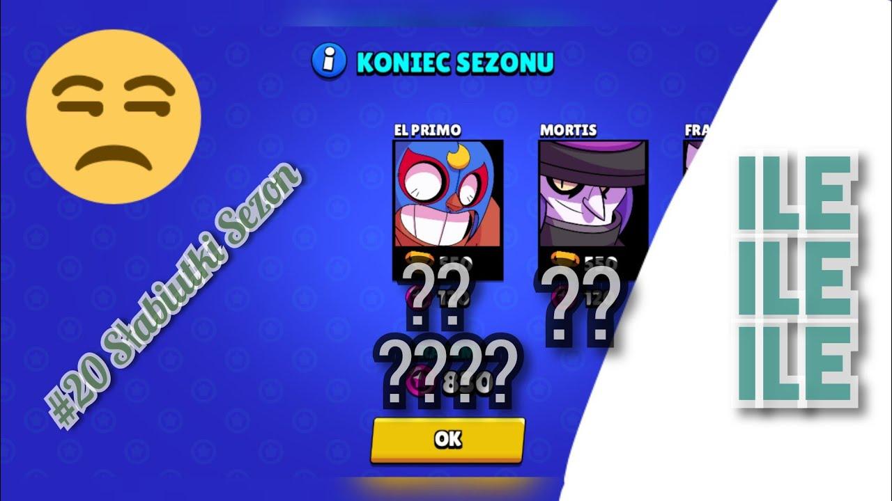 #20 KONIEC SEZONU! *Malutko* | Brawl Stars Polska - YouTube
