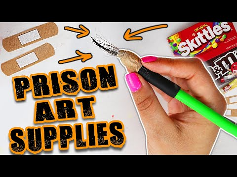 I Made PRISON RIGGED Art Supplies...