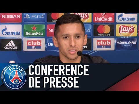Paris Saint-Germain press conference ANDERLECHT vs PARIS SAINT-GERMAIN